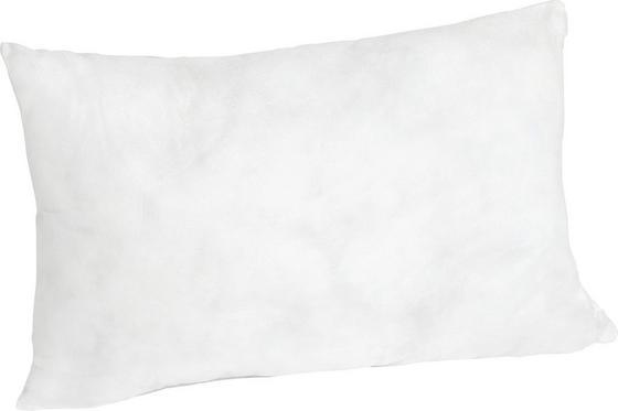 Polštář S Výplní Pia - bílá, textil (25/45cm) - MÖMAX modern living