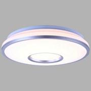 LED-Deckenleuchte Turdus - Silberfarben/Opal, MODERN, Kunststoff/Metall (34,5/8cm)
