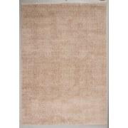 Hochflor Teppich Hellbraun Nobel Micro 80x150 cm - Hellbraun, MODERN, Textil (80/150cm)
