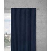 Záves Leo -top- - tmavomodrá, textil (135/255cm) - Premium Living