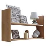 Wandregal Simone 90x45cm Massiv, Buche B: ca. 90 cm - Buchefarben, Basics, Holz (90/45/20cm) - Livetastic