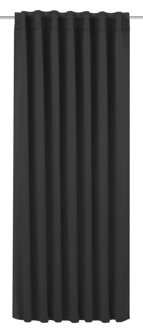 Zatemňovací Závěs Riccardo - tmavě šedá, Moderní, textilie (140/245cm) - Premium Living