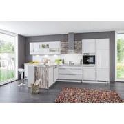 Kuchyňa Na Mieru Florenz - magnólia/čierna, Moderný, kompozitné drevo