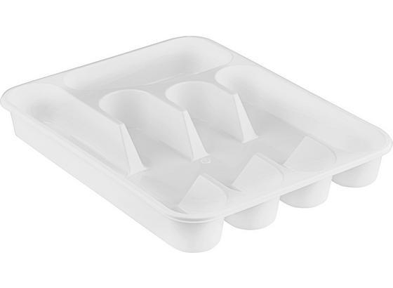 Příborník Rebecca -top- - bílá, umělá hmota (35/26/4,5cm) - Based