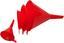 Trichter 4 teilig - Rot, KONVENTIONELL, Kunststoff