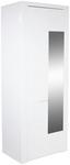Garderobenschrank Bree - Weiß, MODERN, Holzwerkstoff (85/203/38cm)