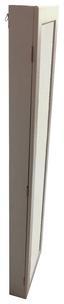 Schmuckschrank Aktion - Weiß, MODERN, Glas/Holzwerkstoff (30/120/8cm)