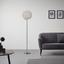 Led Stojací Lampa Clea - barvy chromu/barvy hliníku, Moderní, kov (40/175cm) - Modern Living