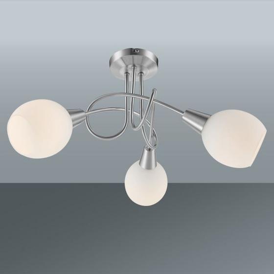 Stropná Lampa Samuel - Konvenčný, kov/sklo (39/24,6cm) - MÖMAX modern living