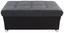 Ülőke City - sötétszürke/szürke, modern, textil (101/41/60cm)
