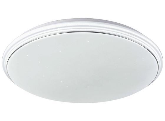 Led Stropná Lampa Sören - biela, Konvenčný, plast (55cm)
