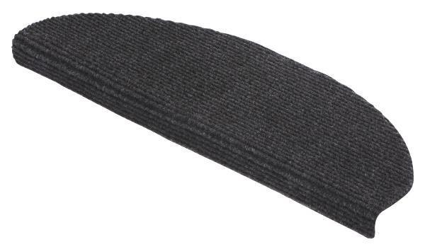 """Lépcsőszőnyeg """"tm Ript50 Modistep"""" Ütös Ár - antracit, konvencionális, textil (65/25cm)"""