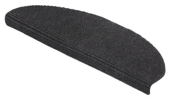 Stufenmatte Anthrazit - Anthrazit, KONVENTIONELL, Textil (65/25cm)