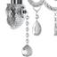 Nástěnné Svítidlo Isabella - čiré/barvy chromu, Romantický / Rustikální, kov/umělá hmota (36/33cm) - Mömax modern living