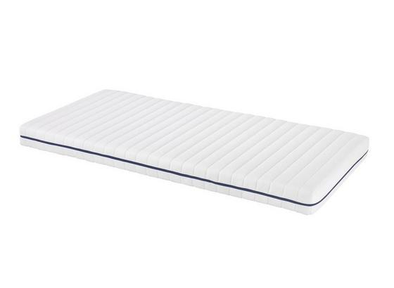 Rollmatratze Star 90x200cm H2 - Weiß, Textil (90/200cm) - Primatex