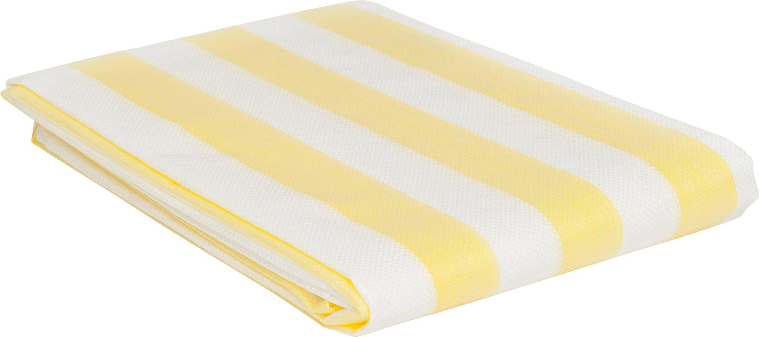 Szemellenző Ibiza - sárga/fehér, konvencionális, műanyag (90/500cm)