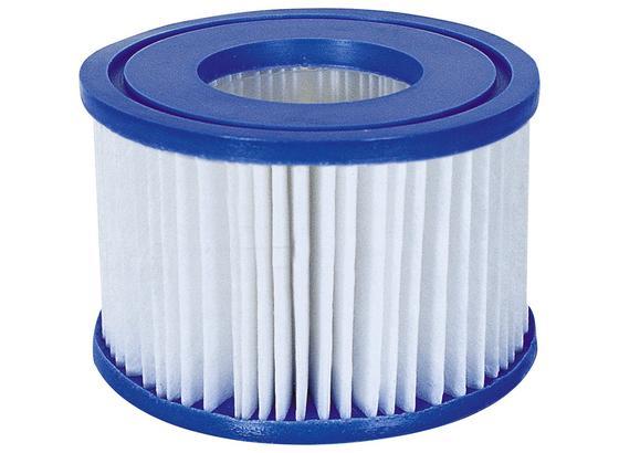 Filterkartusche für Lay-Z-Spa 58323 - Blau/Weiß, KONVENTIONELL, Kunststoff (10,6/8cm) - Bestway