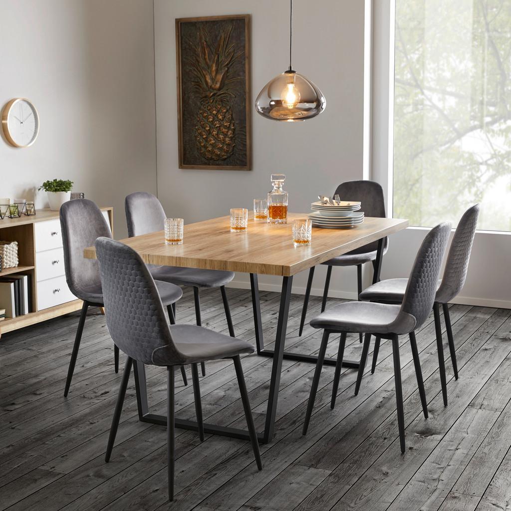 Jedálenský stôl Dave 160x90 Cm