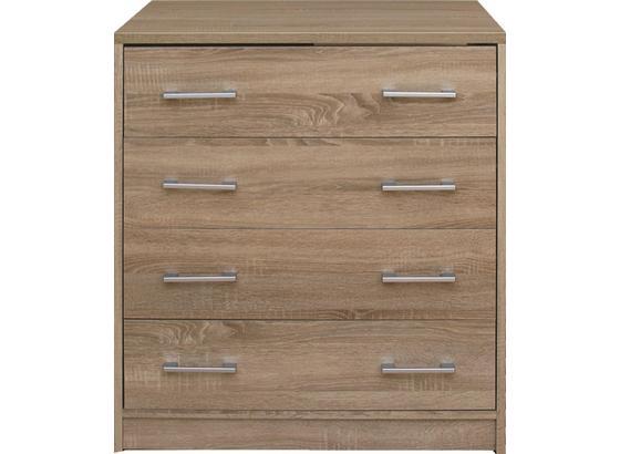 Komoda Zora - Moderný, kompozitné drevo (75/85/50cm)