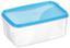 Frischhaltedose Kunststoff - Blau/Transparent, KONVENTIONELL, Kunststoff (10/7/15cm)