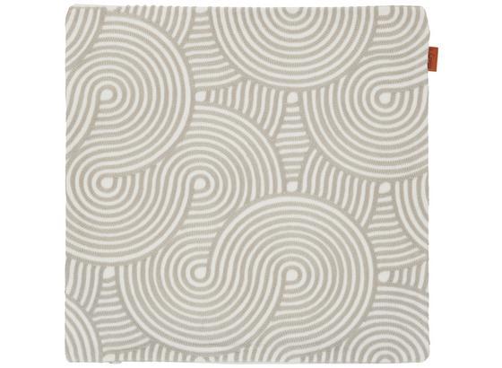Povlak Na Polštář Mary Stick - světle šedá, Moderní, textil (45/45cm) - Mömax modern living