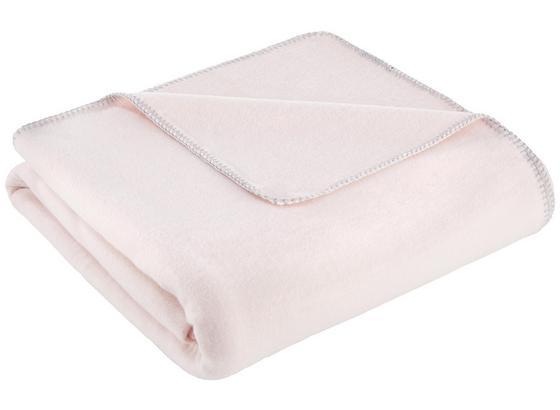 Měkká Deka Fay - růžová, Moderní, textil (150/200cm) - Mömax modern living