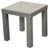Beistelltisch Normen - Grau, MODERN, Holzwerkstoff (39mm)