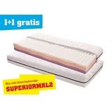 Viscomatratze Superior H2 90x200 - Weiß, KONVENTIONELL, Textil (200/90/21cm) - PRIMATEX