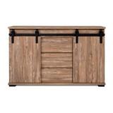 Kommode Marrakesch 01b - Anthrazit, Basics, Holzwerkstoff (140/87/40cm)