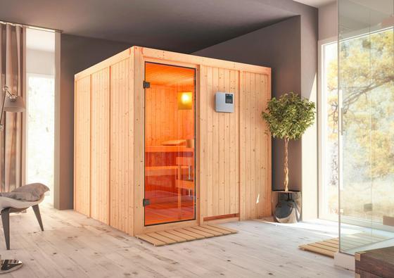 Finnische Sauna für 3 Personen