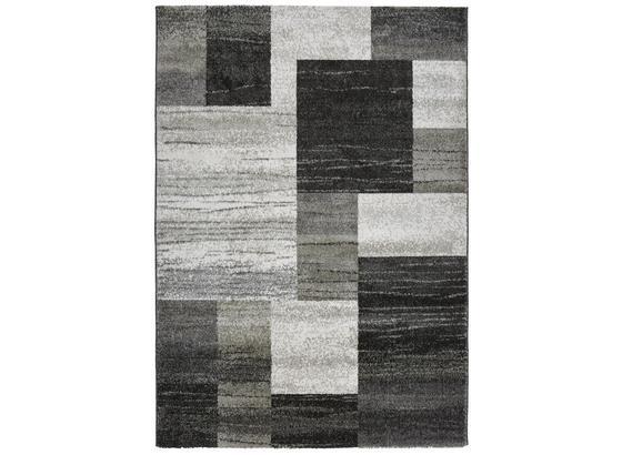 Tkaný Koberec Tina 3 - šedá/antracitová, Konvenční, textil (160/230cm)