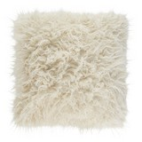 Zierkissen Hairy - Naturfarben, MODERN, Textil (50/50cm) - Luca Bessoni