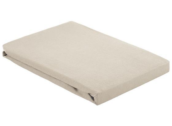 Prostěradlo Napínací Basic - přírodní barvy, textil (100/200cm) - Mömax modern living