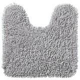 WC-vorleger Lilly - Grau, KONVENTIONELL, Textil (45/50cm) - OMBRA