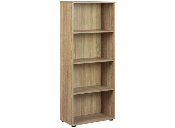 Standregal Parini B: 60 cm Sonoma Eiche - Sonoma Eiche, Basics, Holzwerkstoff (60/145/30cm) - Livetastic
