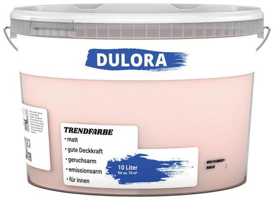 Wandfarbe 10 Liter Orchideenrosé - Rosa (10l) - Dulora