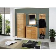 Garderobenpaneel Pure - Eichefarben, MODERN, Holz (48/165/30cm)