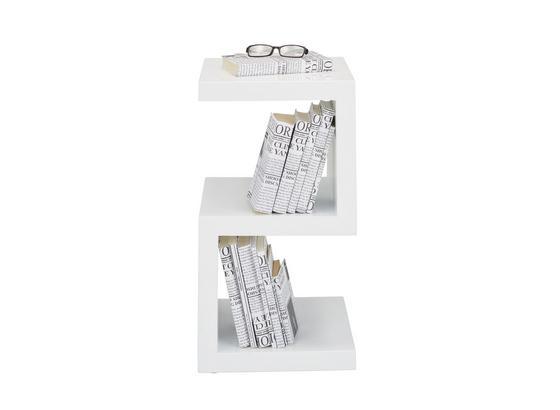 Odkládací Stolek Diego - bílá, Moderní, kompozitní dřevo (32/59/32cm) - Mömax modern living