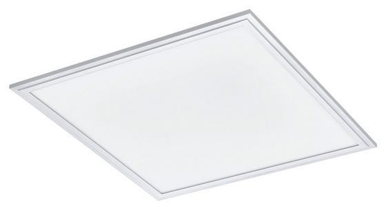 LED-Paneel Salobrena 2 - Weiß, MODERN, Kunststoff/Metall (45/45/1,1cm)