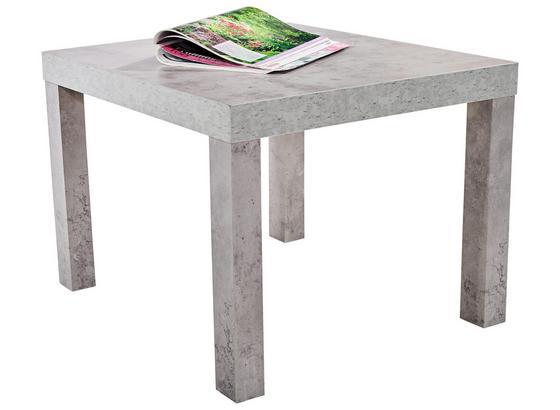 Konferenčný Stolík Nora - sivá, Moderný, kompozitné drevo/plast (55/42/55cm)
