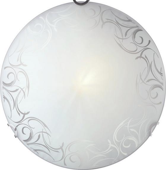 Mennyezeti Lámpa Katrice - konvencionális, üveg/fém (30cm)