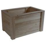 Hochbeet Holz Star LxBxH: 98x64x58,8 cm - MODERN, Holz (98/64/58,8cm) - James Wood