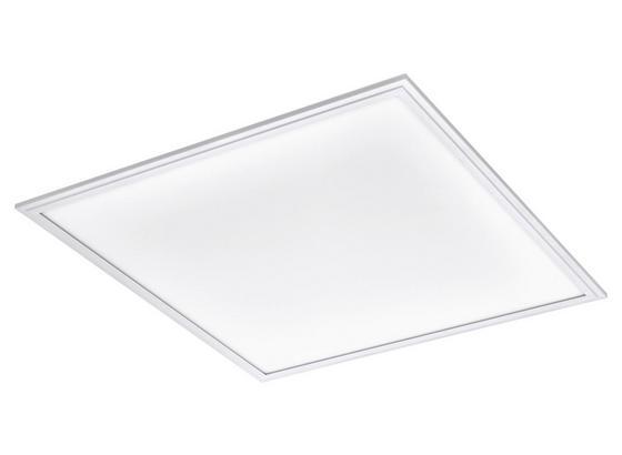 LED-Paneel Salobrena-M - Weiß, Basics, Kunststoff/Metall (59,5/59,5/5cm)