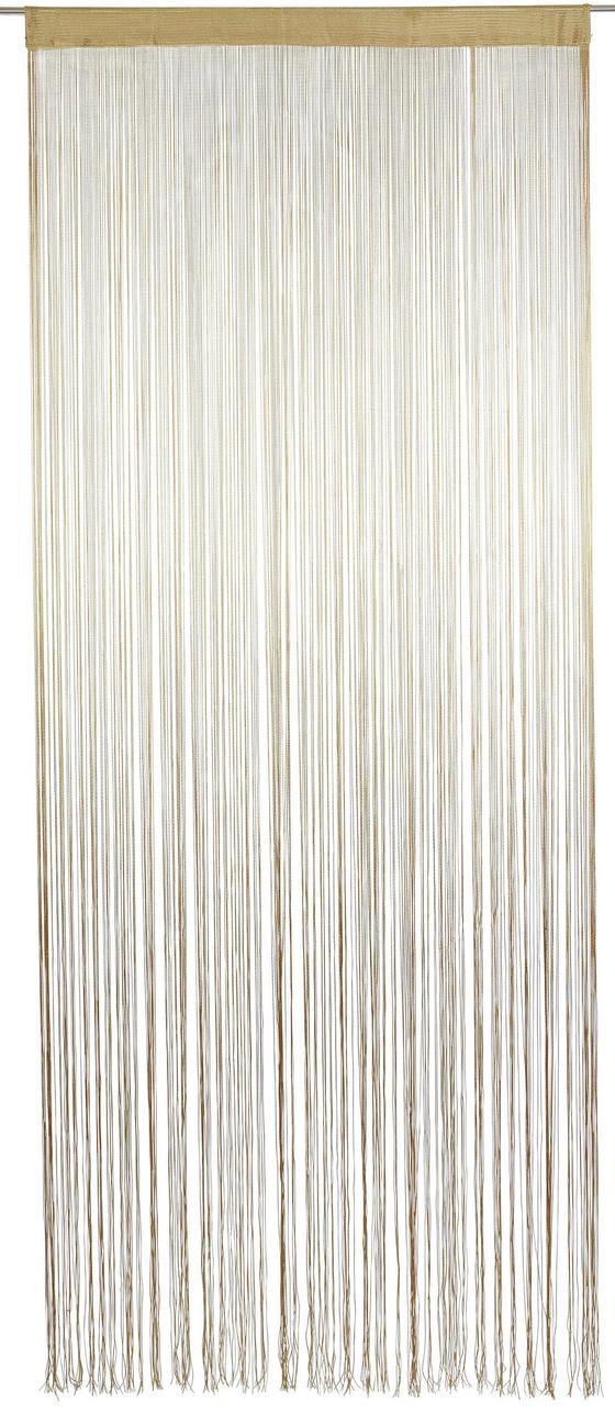 Fadenstore Marietta - Naturfarben, KONVENTIONELL, Textil (90/245cm) - Ombra