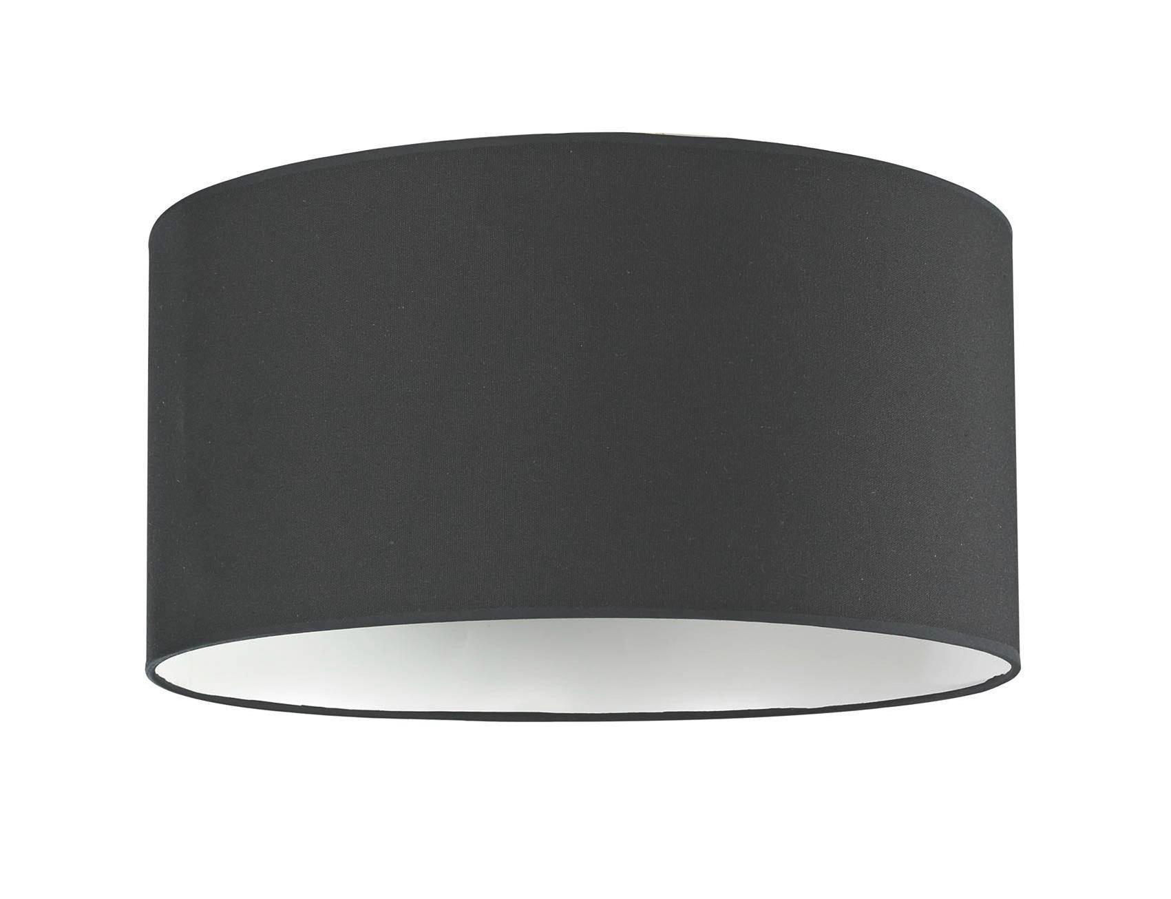 Stínítko Svítidla Arno - černá, kov/textil (50/50/25cm) - MÖMAX modern living