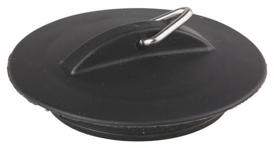 Lefolyódugó Fekete - fekete, konvencionális, műanyag