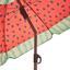 Sonnenschirm Sophie II - Anthrazit/Rot, KONVENTIONELL, Textil/Metall (180/190cm) - Ombra