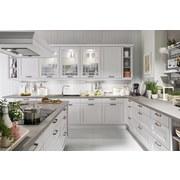 Kuchyňa Na Mieru Casablanca - čierna/biela, Moderný, kompozitné drevo - Vertico