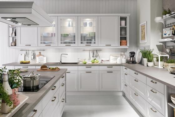 Kuchyně Na Míru Casablanca - bílá/černá, Moderní, kompozitní dřevo - Vertico
