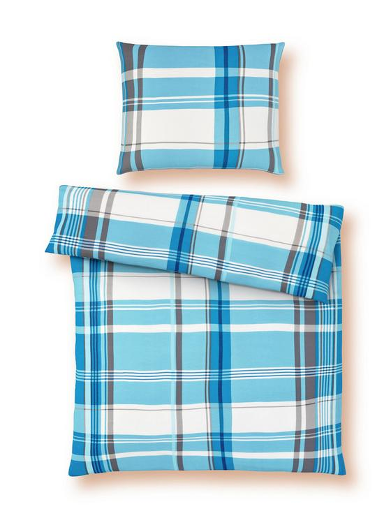 Bettwäsche Susanne - Beere/Petrol, KONVENTIONELL, Textil - Ombra
